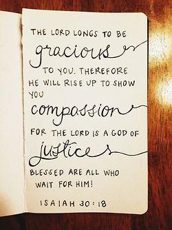 Isaiah 30.18